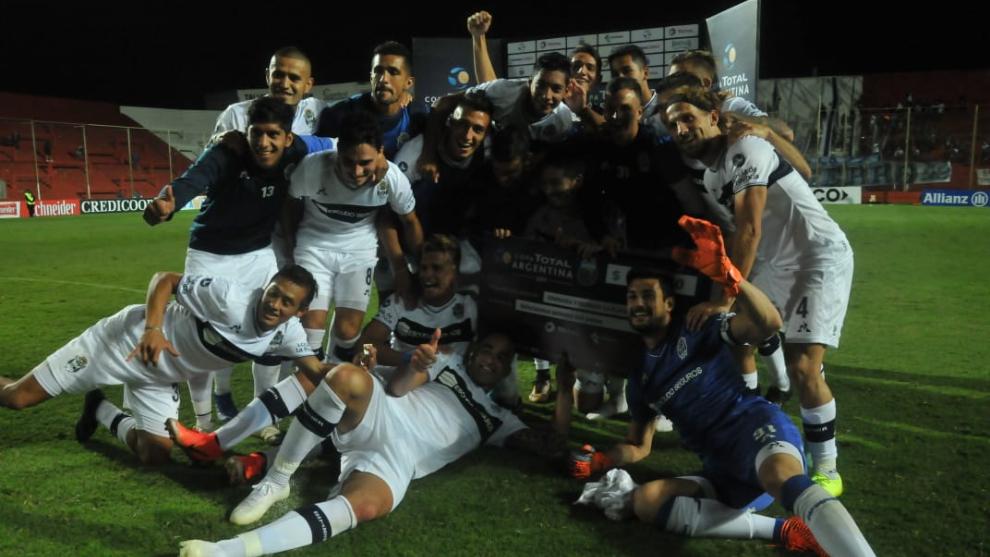 Tras empatar 0-0, Gimnasia ganó por penales