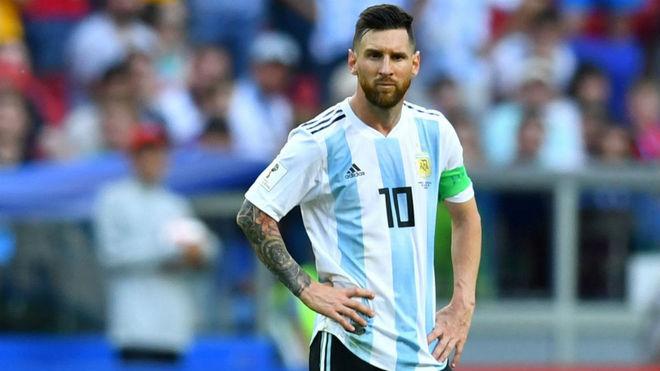 Leo Messi el líder de la Selección