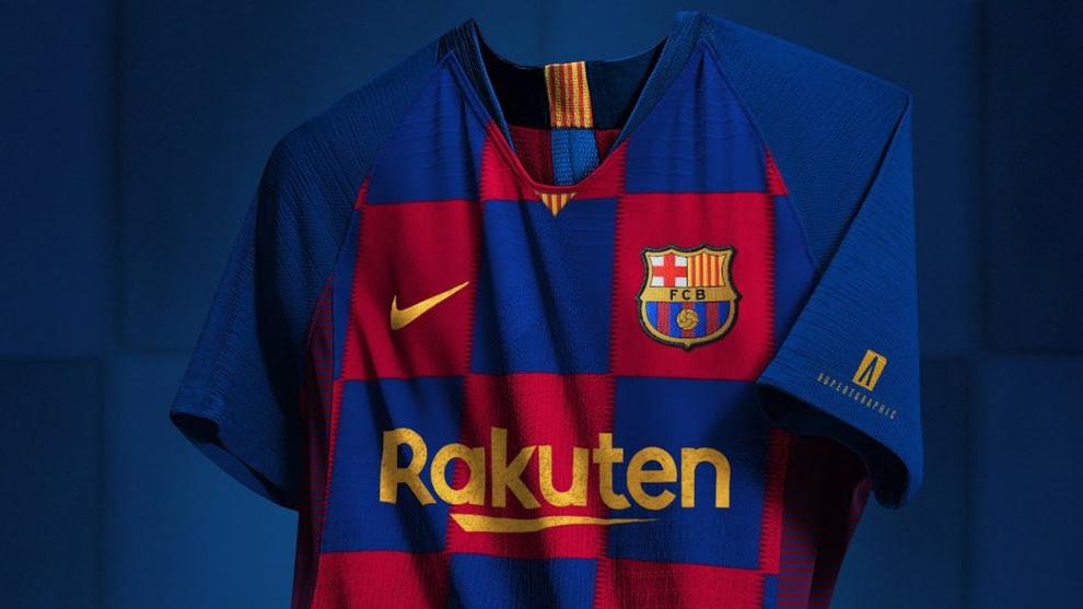 La nueva camiseta del Barcelona para la temporada 19/20