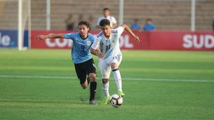 ar en el arranque del Sudamericano Sub 17 Argentina vs Uruguay