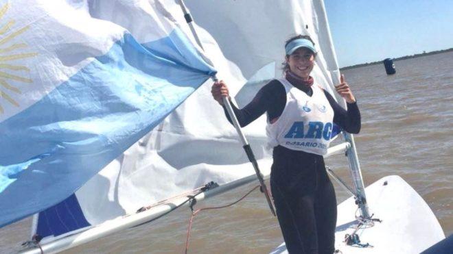 Luciana Cardozo sumó una nueva medalla dorada para Argentina.