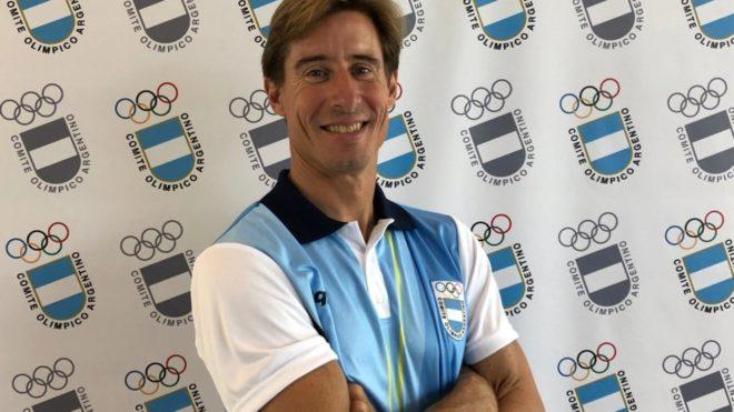 Mariano Reutemann, deportista argentino en Rosario 2019.