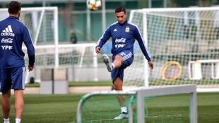 Iván Marcone, futbolista de Boca.