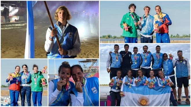Argentina dominó el medallero en los Juegos Sudamericanos de Playa...