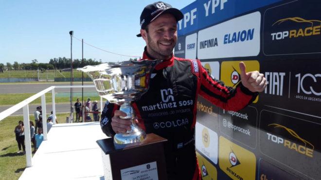 Agustín Canapino se quedó con el triunfo en Paraná