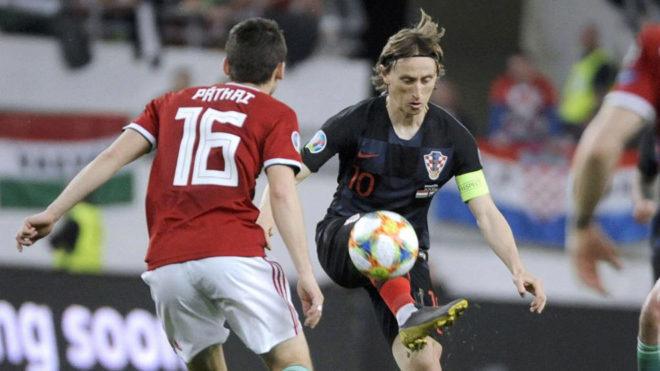 Croacia no pudo ante Hungría