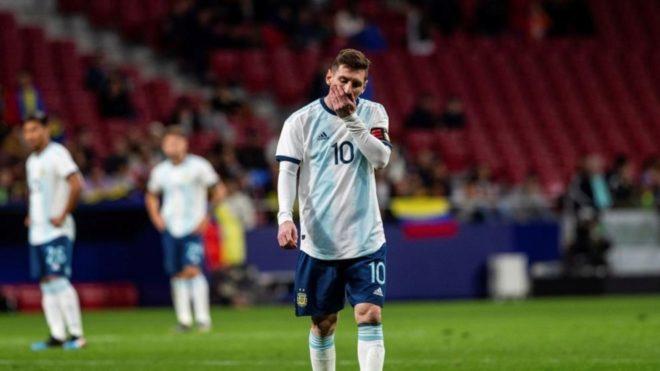 Lionel Messi, presente ante Venezuela pero ausente para el choque ante...