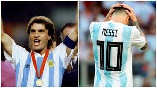 Ruggeri apuntó contra Messi