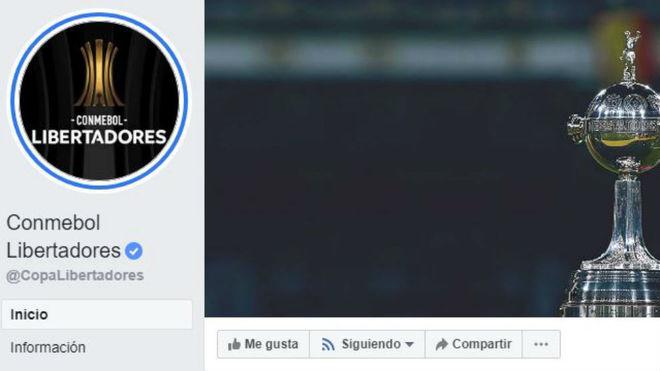 Facebook mantendrá la exclusividad de los partidos de los jueves — Libertadores