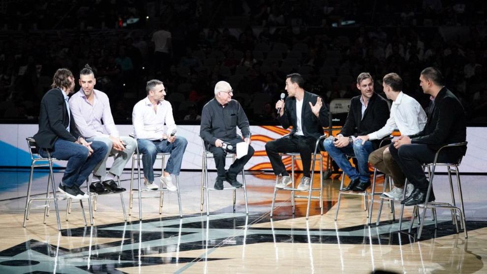 La Generación Dorada en el AT&T Arena