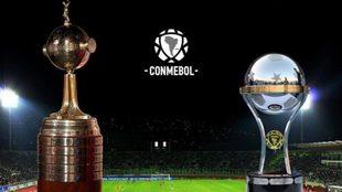 La Copa Libertadores y la Copa Sudamericana.