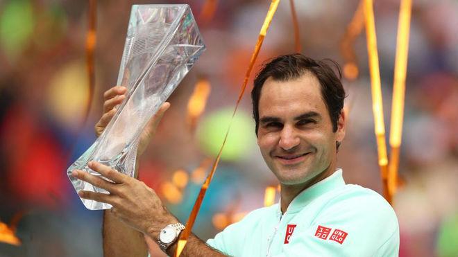 Otra impresionante cátedra de Roger Federer — Miami Open