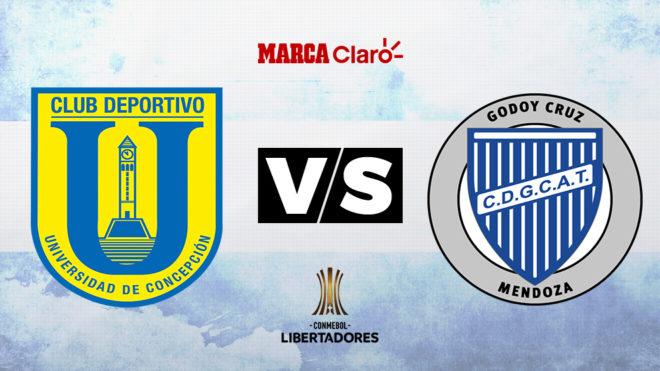 EN VIVO | Universidad de Concepción se juega el liderato ante Godoy Cruz por Copa Libertadores