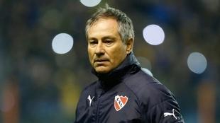 Ariel Holan, director técnico de Independiente.