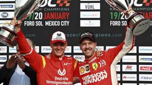 Vettel y la sombra de Schumacher