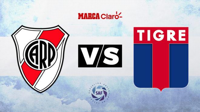River vs Tigre: Horario y dónde ver el partido de la fecha 25 de la...