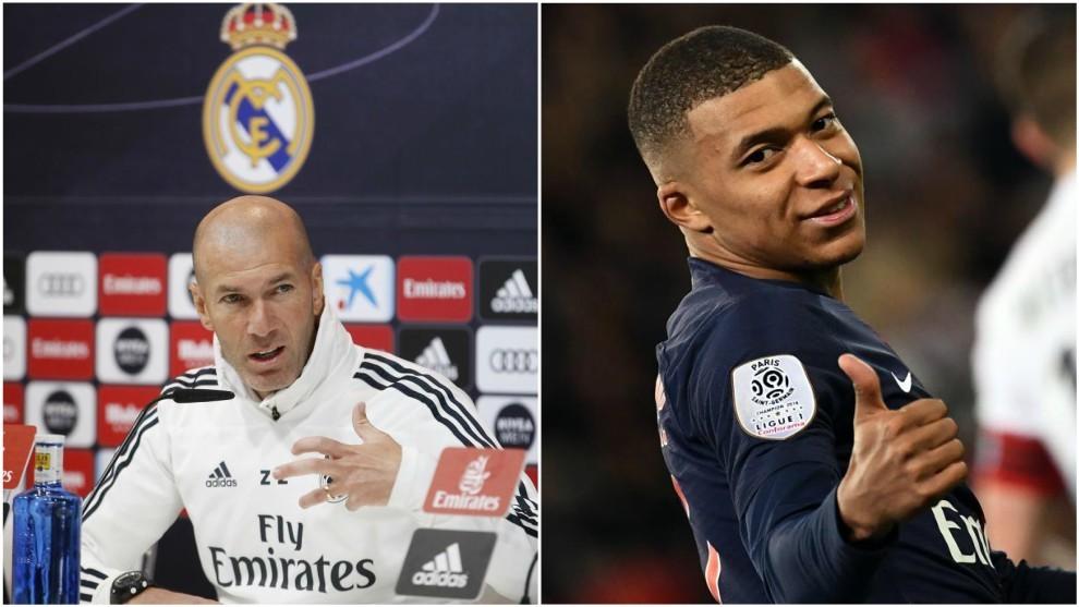 Zidane y Mbappé, la relación con la que sueñan los hinchas del Real...