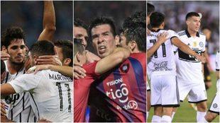 Libertad, Cerro Porteño y Olimpia la vienen rompiendo en la...