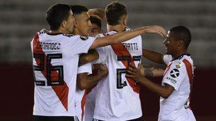 River goleó 3-0 a Alianza Lima y se acomodó en el Grupo A de la Copa...