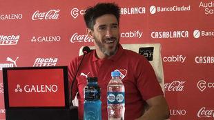Pablo Pérez, en una conferencia de prensa.