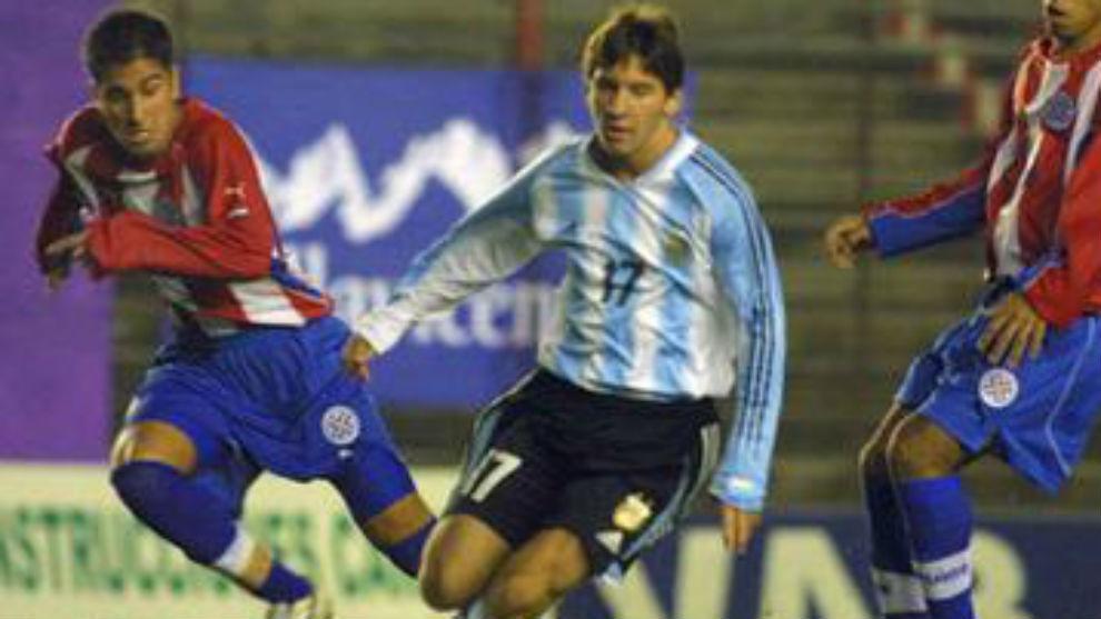 El día del debut de Messi con la Selección Argentina