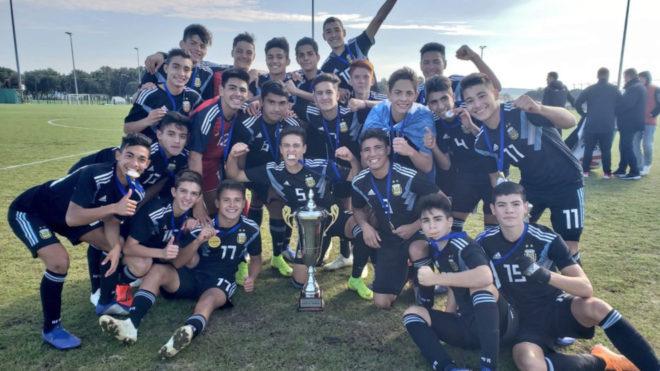 La Selección Argentina Sub 15, campeona en Croacia