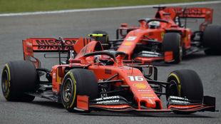 """Leclerc sobre las órdenes: """"Desde el coche ha sido muy..."""