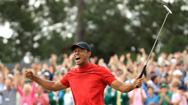 Histórico triunfo de Tiger Woods en Augusta