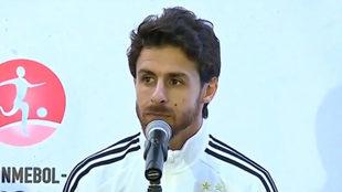 Pablo Aimar lamentó la derrota en el cierre del Hexagonal