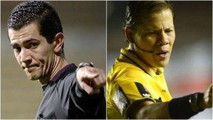 Andrés Rojas va con River y Víctor Carrillo con Boca.
