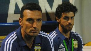 Lionel Scaloni quiere juntarse con Pablo Aimar.