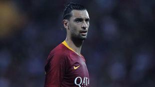 Pastore, durante un partido con la Roma.