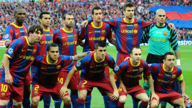 Uno de los equipos de Barcelona que marcó una época en el fútbol...
