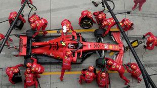 """Leclerc: """"No me siento sacrificado, somos un equipo"""""""