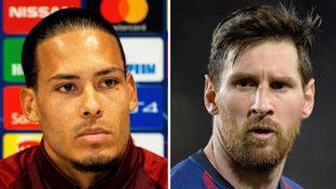 Van Dijk se medirá a Leo Messi en Liverpool vs. Barcelona.
