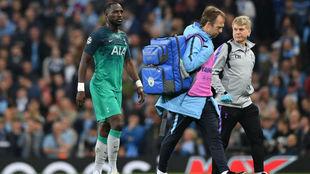 Sissoko dejó el campo lesionado