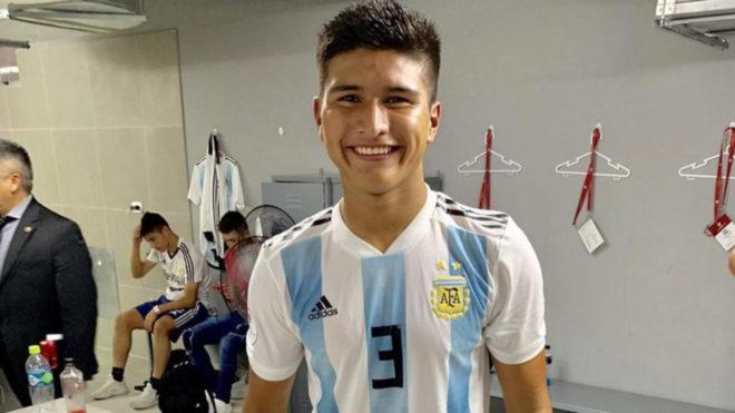 Bruno Amione, la joya del Sub 17 que buscan desde Italia