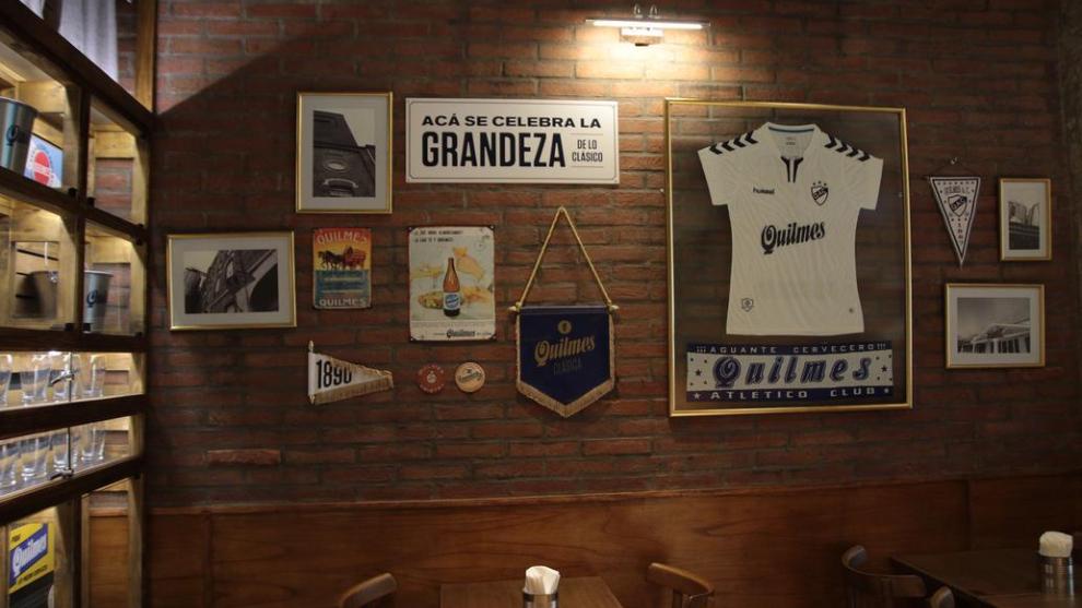 Quilmes cerveza y Quilmes club, juntos de por vida