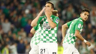 Lo Celso en el empate del Betis