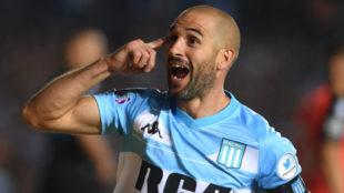 Lisandro López se lesiona y no jugará ante Estudiantes en la Copa de...