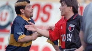 """La histórica pelea de Huevo' Toresani y Diego Maradona: """"Segurola y..."""