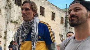 Schiavi y Mora en la cárcel de San Onofre