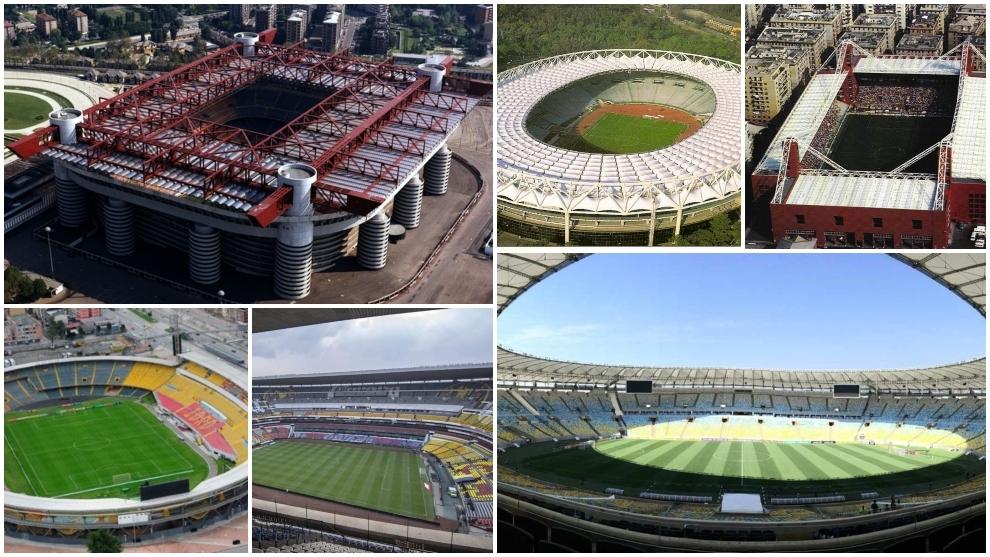 Los clásicos rivales que comparten estadio en el fútbol