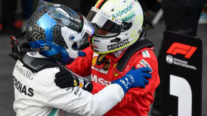 Vettel se queda con un podio con sabor a poco