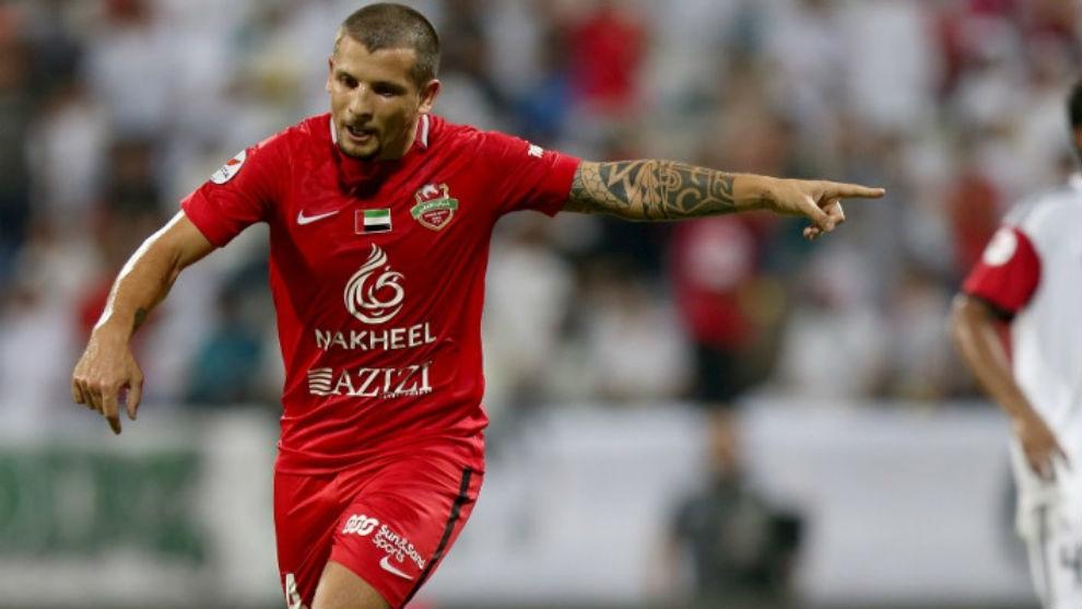 Emiliano Vecchio, campeón en Emiratos Árabes Unidos