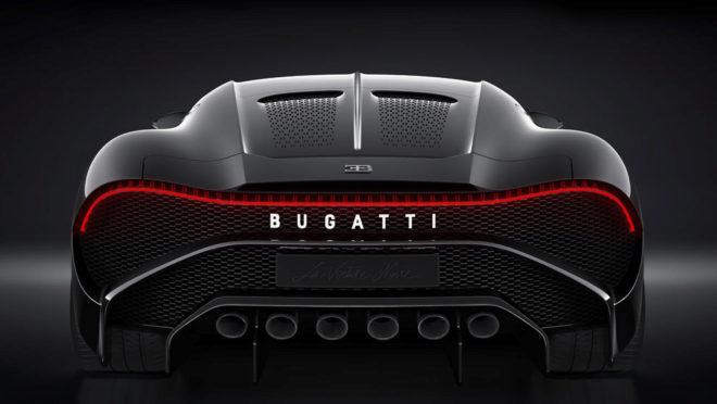 El hiperdeportivo La Voiture Noire de Bugatti cuesta 11 millones
