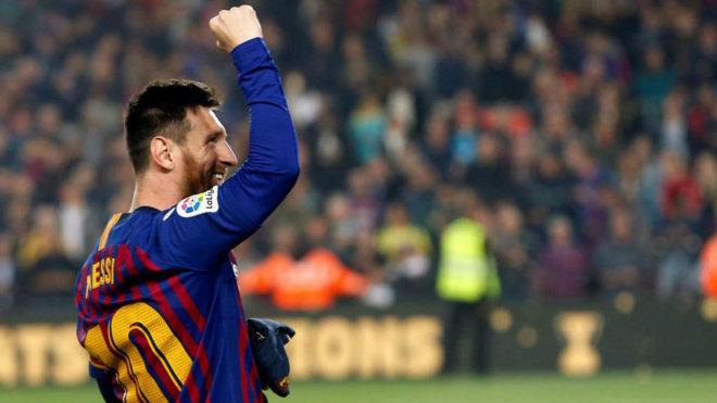El Gobierno catalán concede la cruz de Sant Jordi a Messi