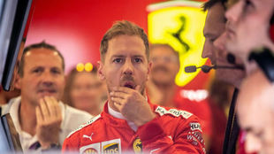 Sebastian Vettel, en el blanco
