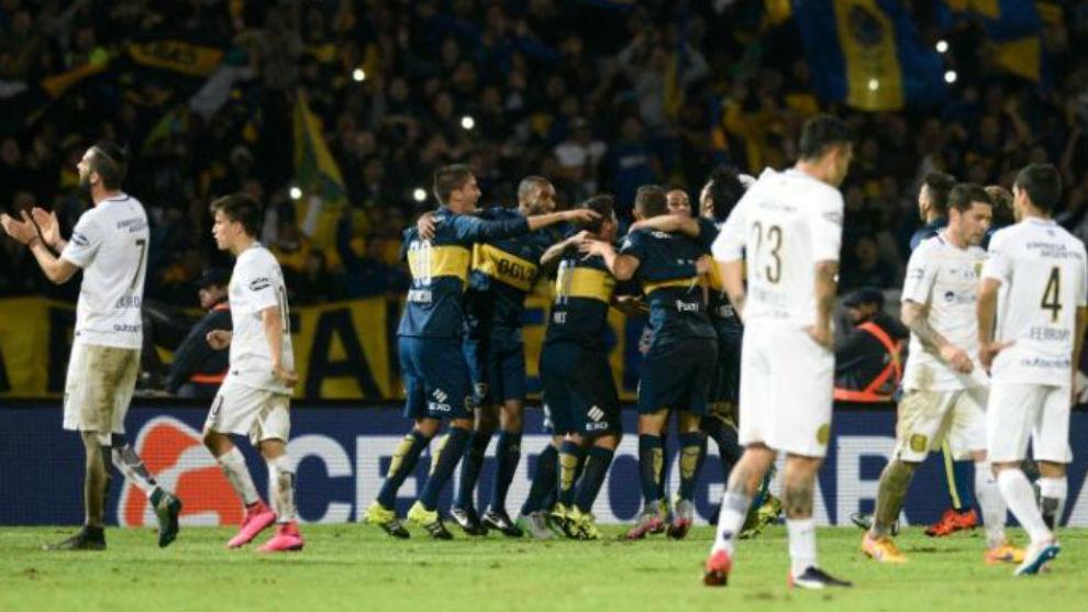 Boca se quedó con la Copa Argentina 2015.