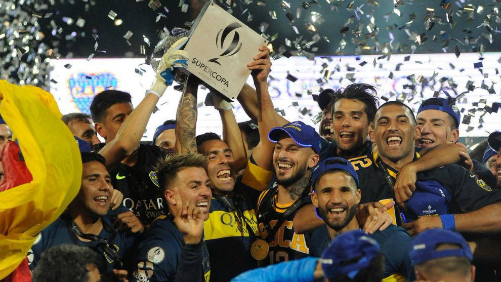 Boca, campeón de la Supercopa Argentina